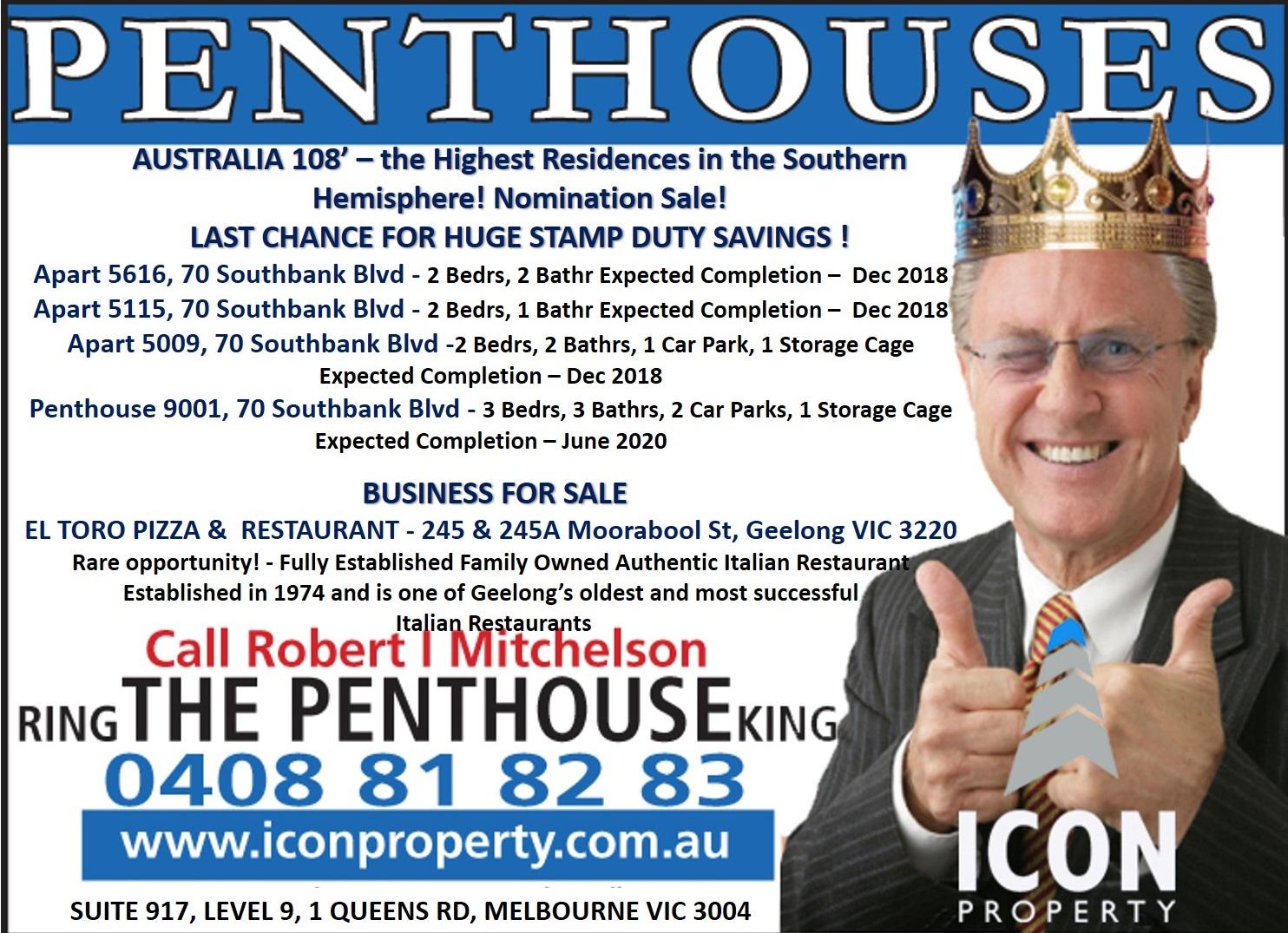 Icon Property Penthouse King OFI 17 18 11 18