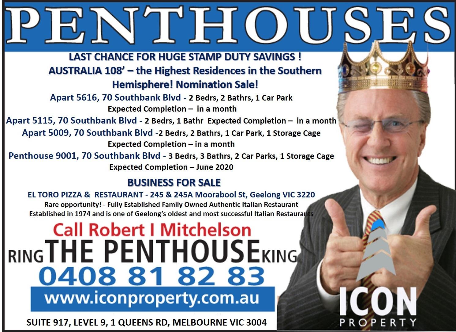 Icon Property Penthouse King OFI 19 20 01 19